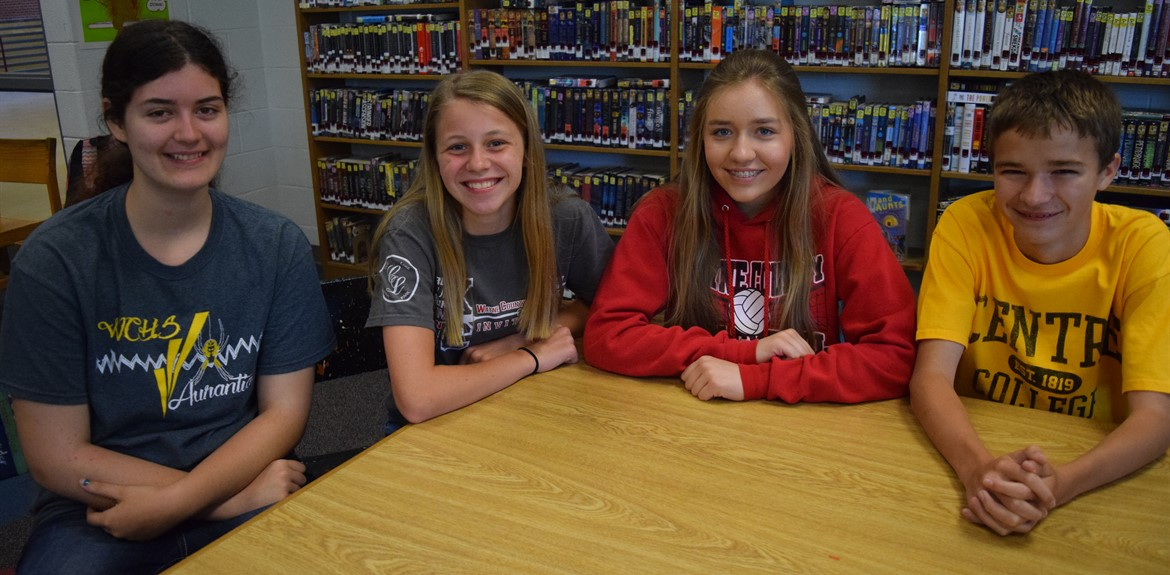 WCMS students chosen to participate in Rogers Scholar Program