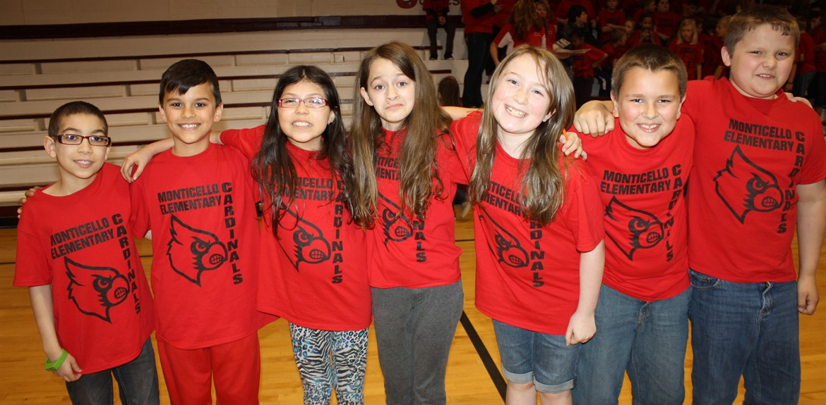 Students participate in a Pep Rally for K-PREP