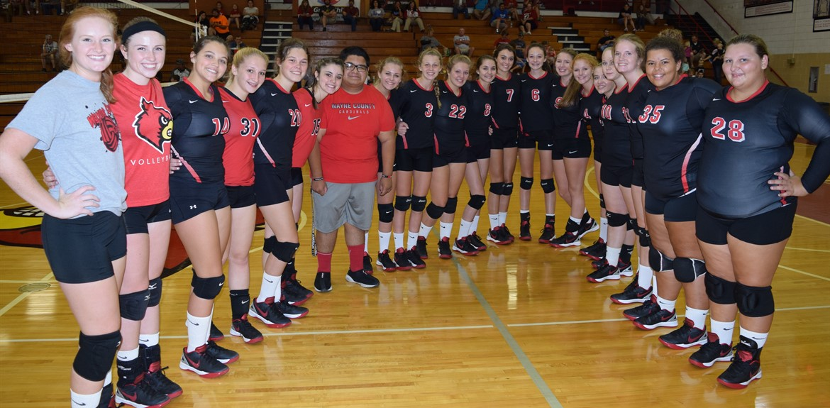 The 2015-16 Varsity and Junior Varsity Volleyball Teams