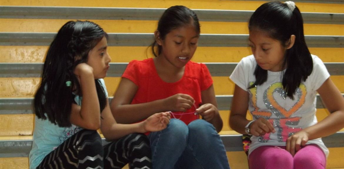Students have fun creating crafts at 21st Century Summer Camp