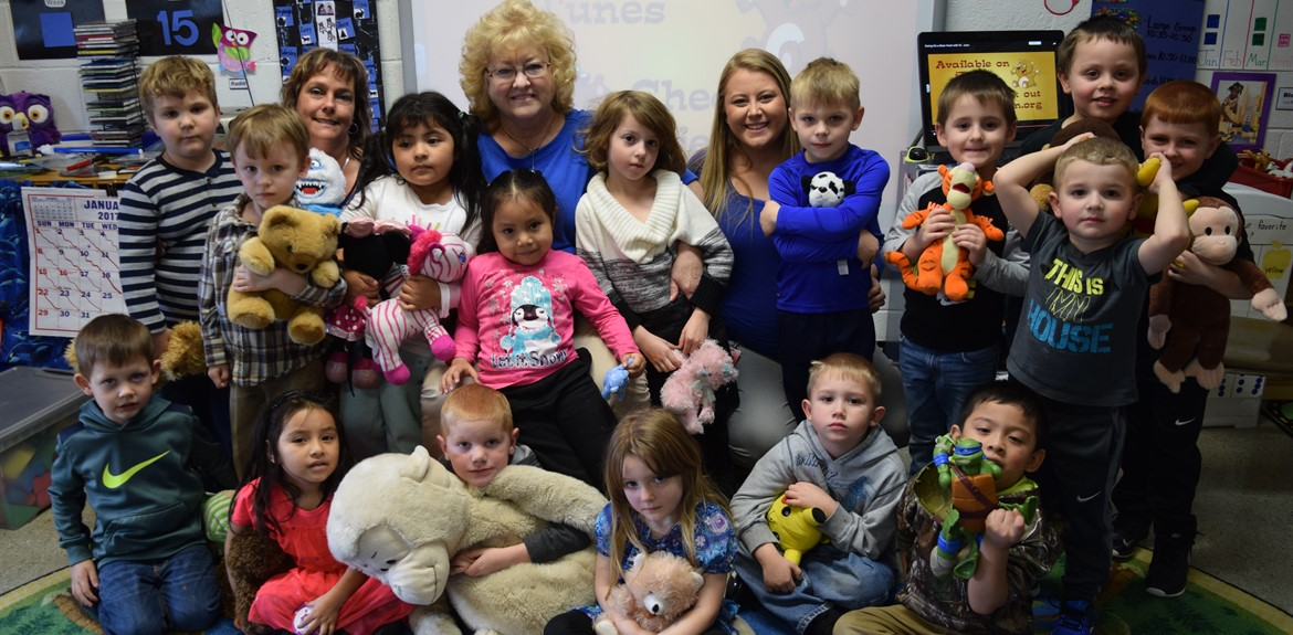 Teddy Bear Picnic at Walker's Early Learning Center Preschool