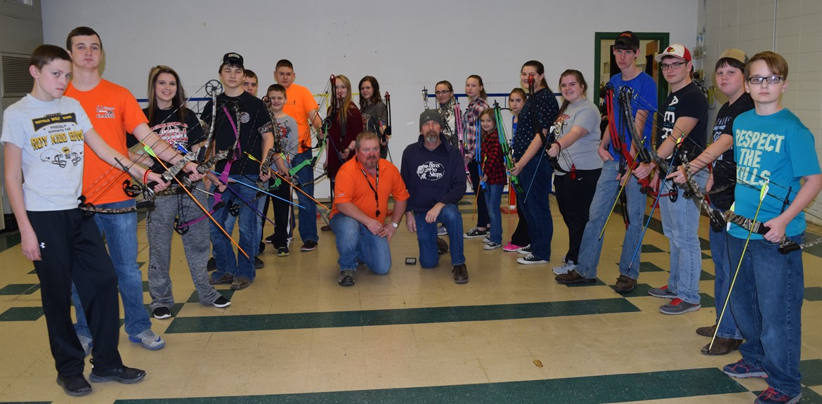 Archery is popular sport for elementary, middle and high school students!
