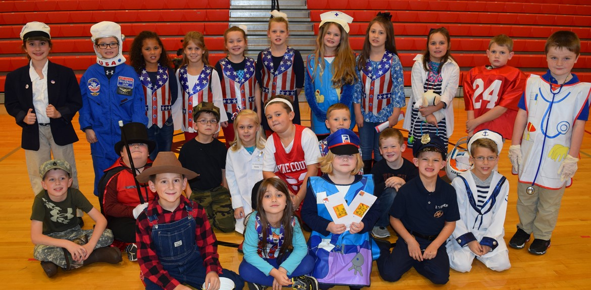 Bell Elementary Music students performed in Veterans Day Program