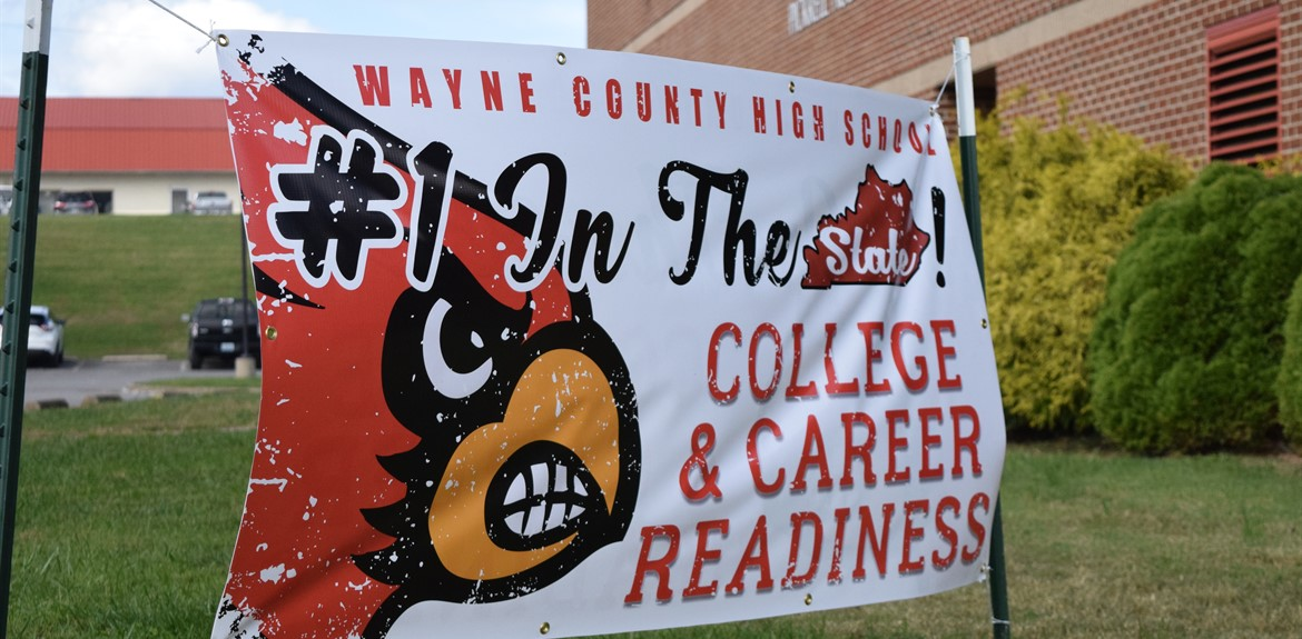 Congrats to Wayne County High School on College and Career Readiness Ranking!
