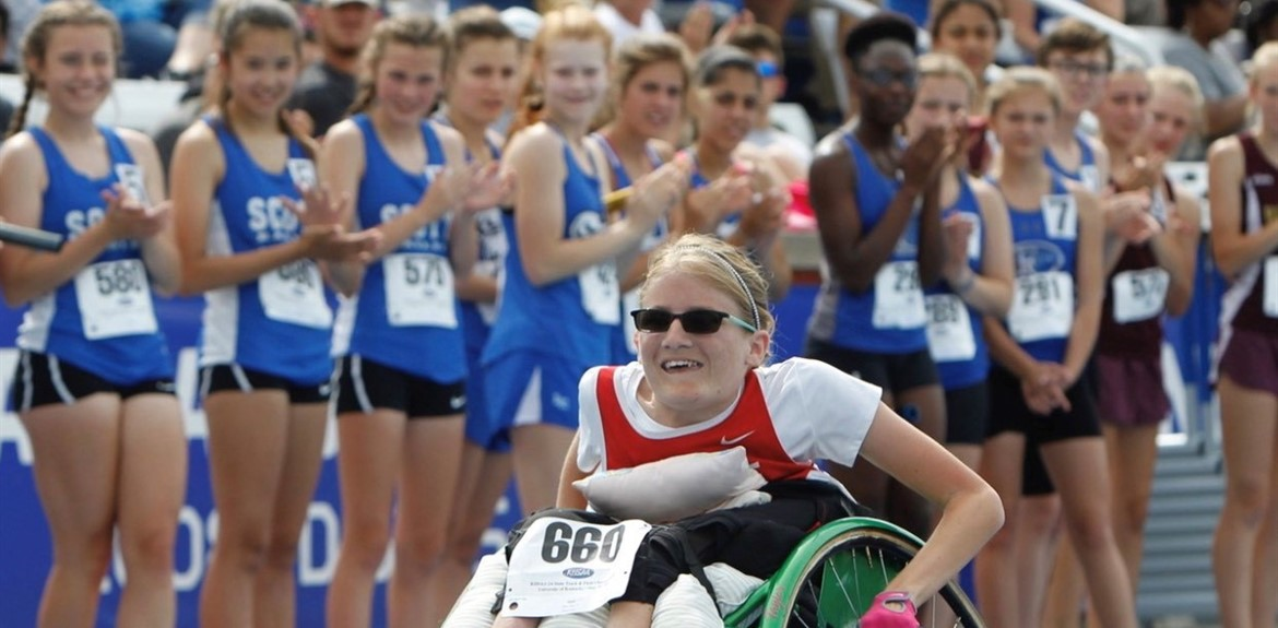 WCHS Senior Taylor West wins state 100-meter competition
