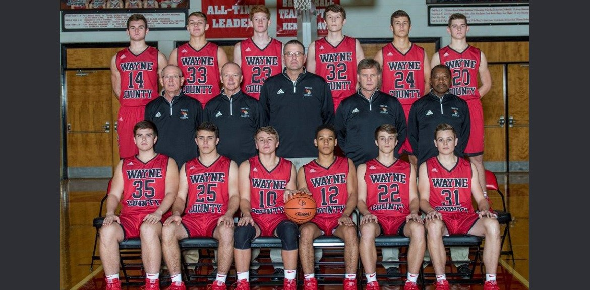 Boys Basketball Varsity Team