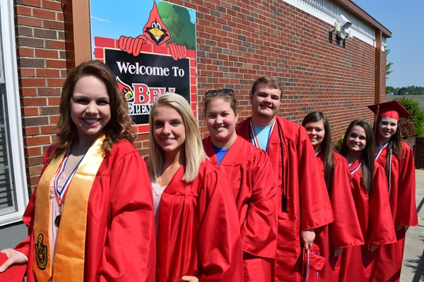 Courtney Dishman, Madison Dobbs, Olivia Timmerding, Owen Griffin, Laura Stacy, Bryanna Burnett, and Natalie Humble