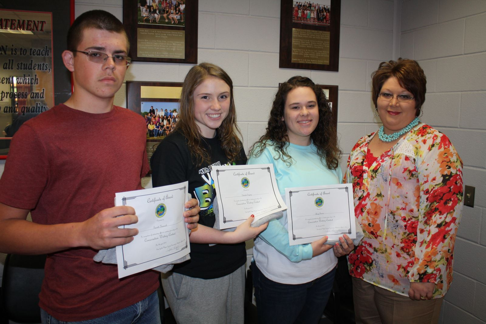 Kentucky farm bureau soil essay winners