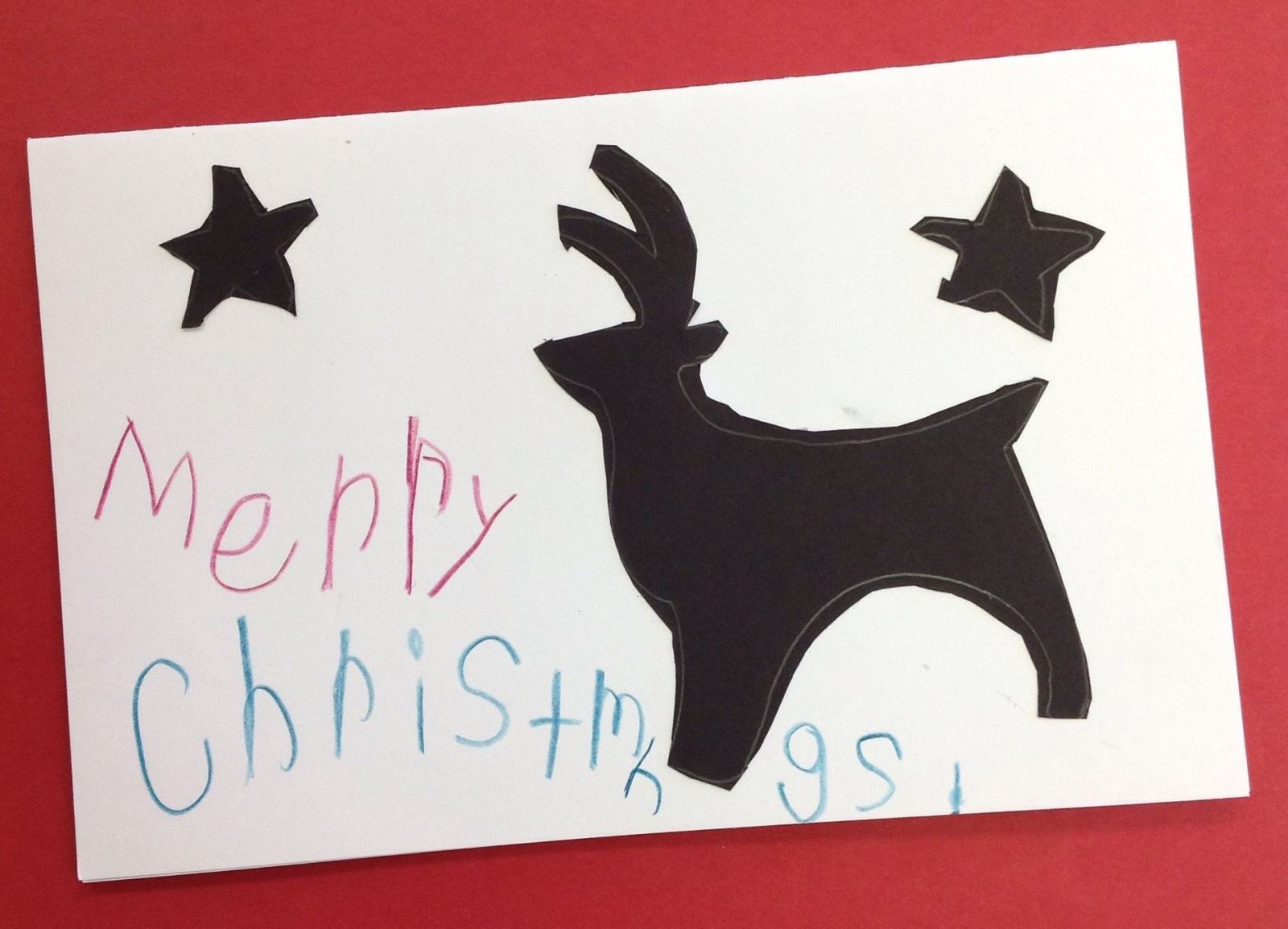 Young Artists Submit Art For Holiday Greeting Card Wayne County