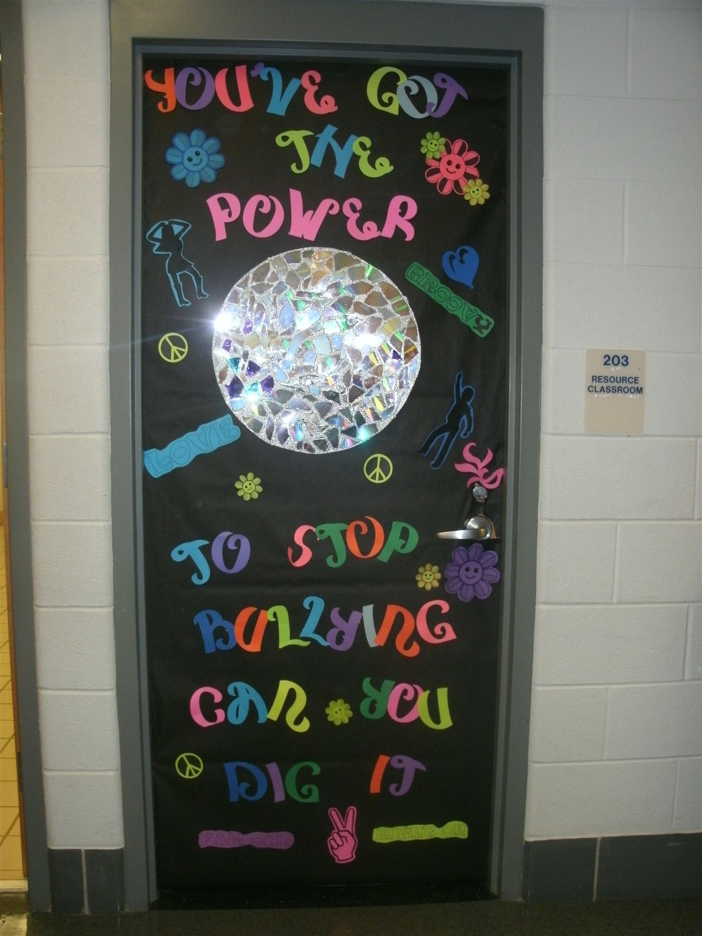 Wcms Promotes Anti Bullying Anti Drug Campaign With Door