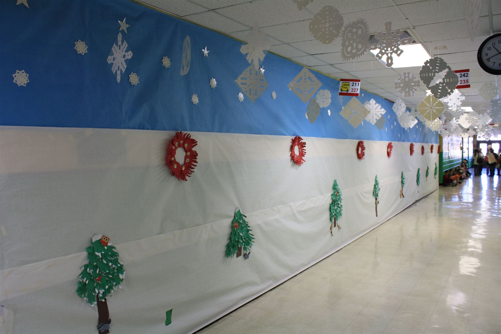 Tour The Hallways At Walker Elementary To Enjoy The