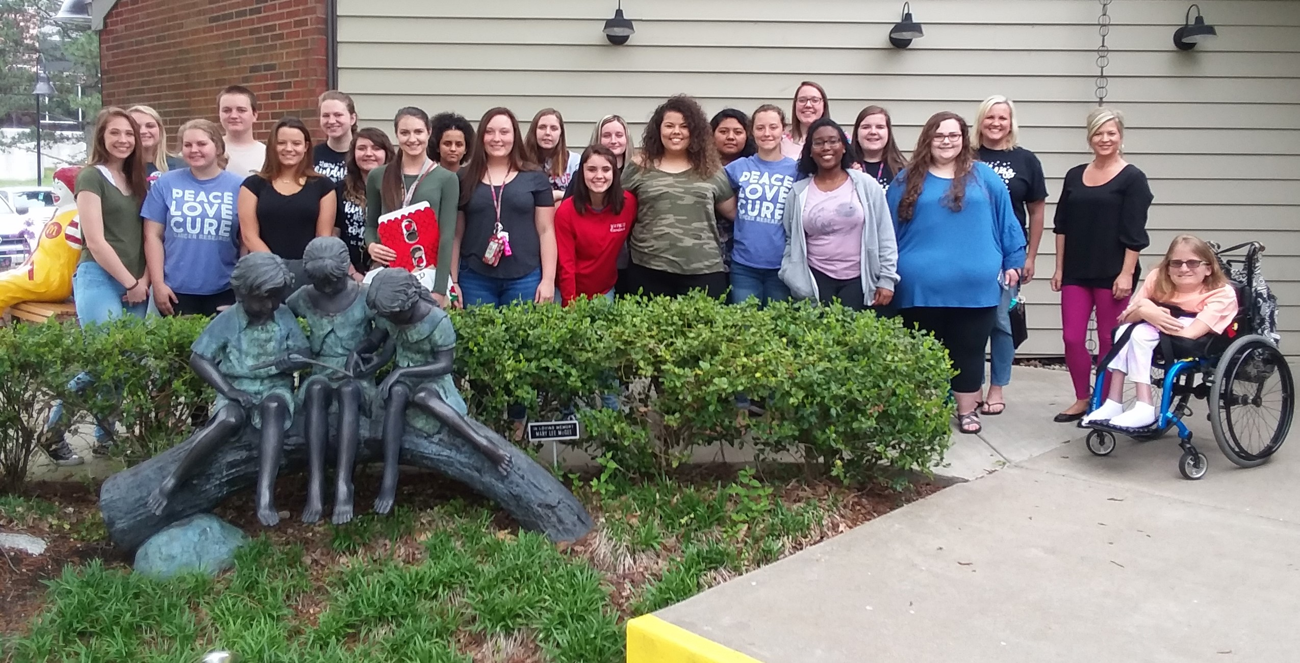 FCCLA students deliver donations to Ronald Mcdonald house