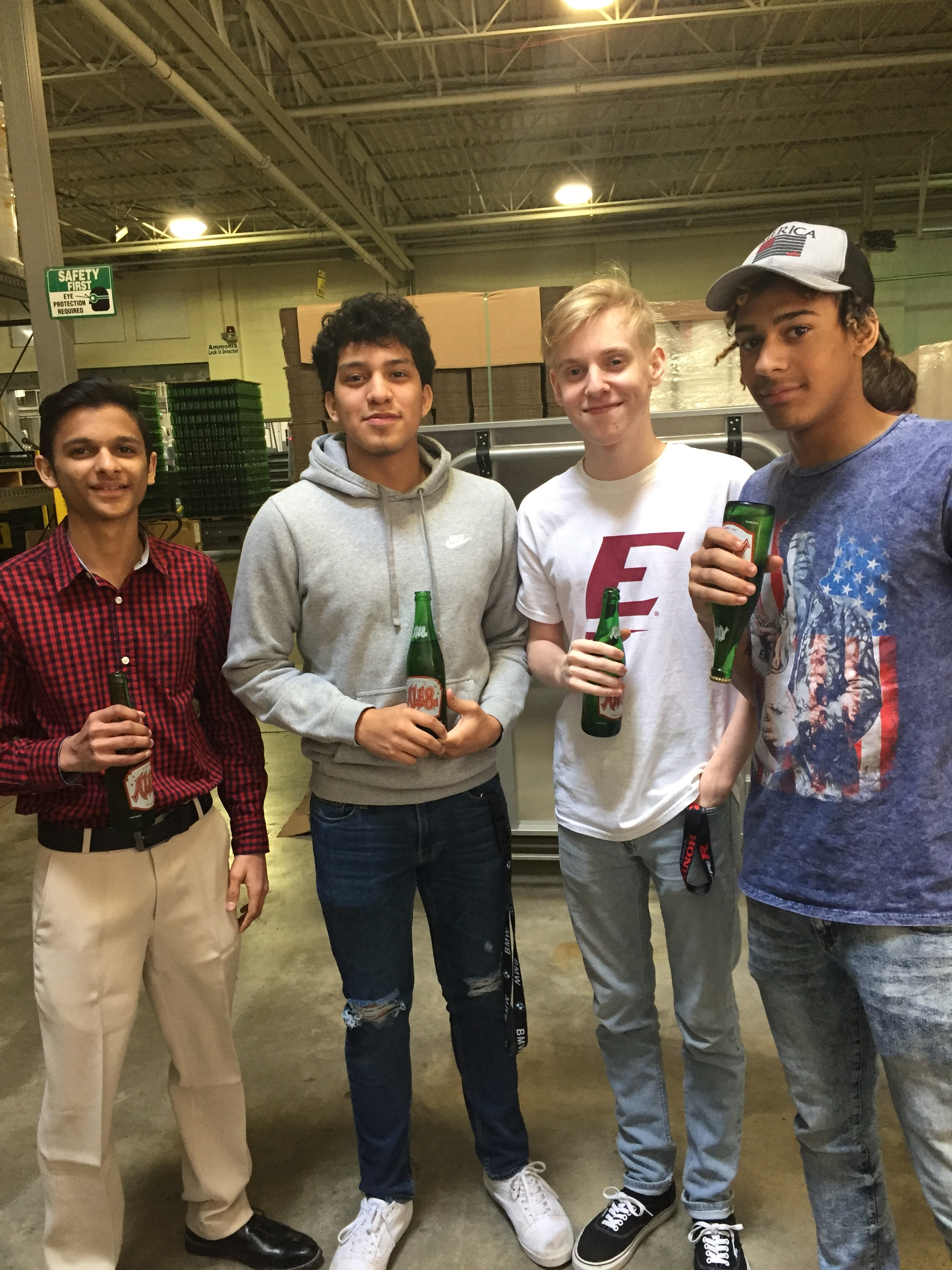 Meet Panchal, Harry Romero, Michael Johnson, & Christian Vanover