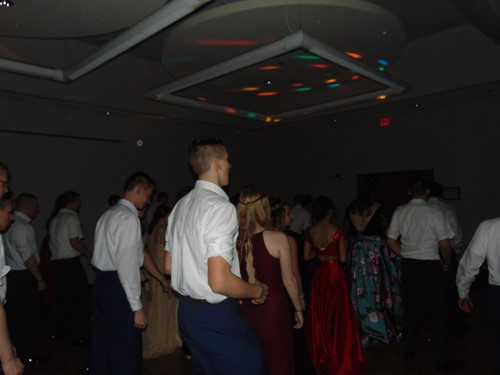 Cadets on the dance floor