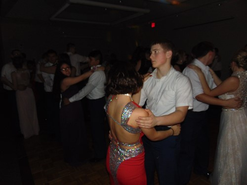 Cadets slow dancing